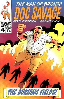 Doc Savage #4 Cassaday VIP Cover [Dynamite Comic] LARGE