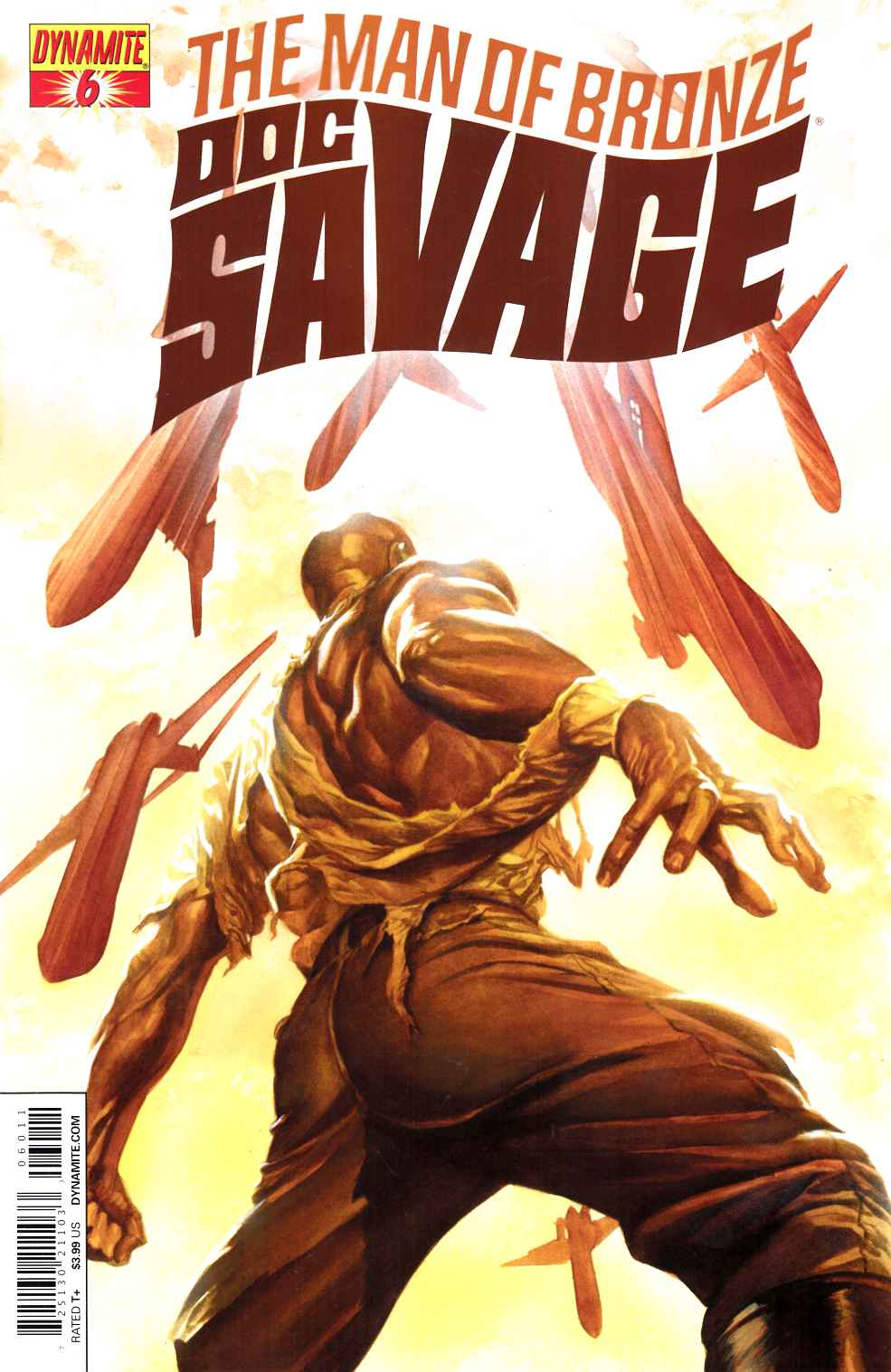 Doc Savage #6 [Dynamite Comic] THUMBNAIL