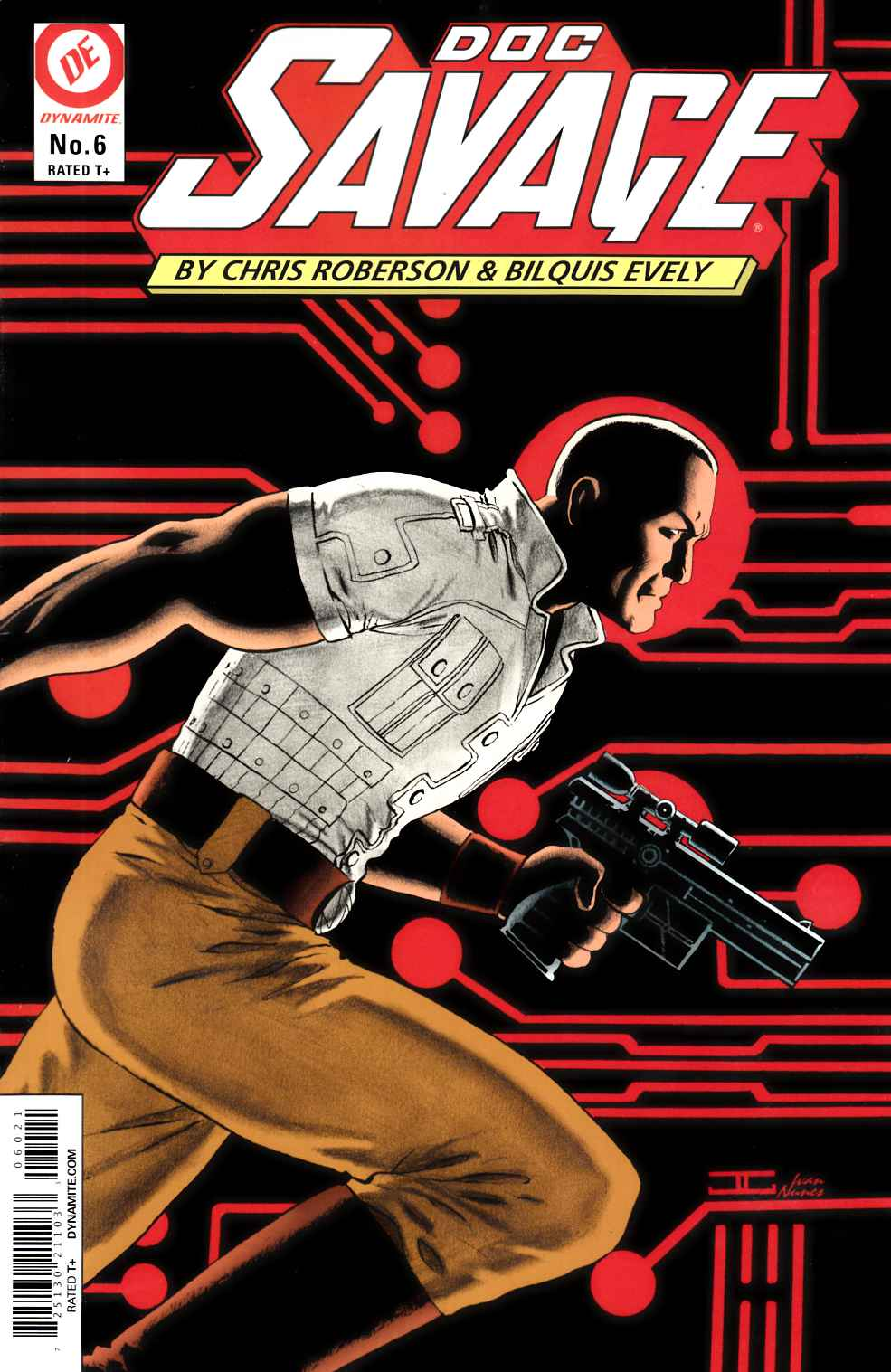 Doc Savage #6 Cassaday VIP Cover [Dynamite Comic] THUMBNAIL