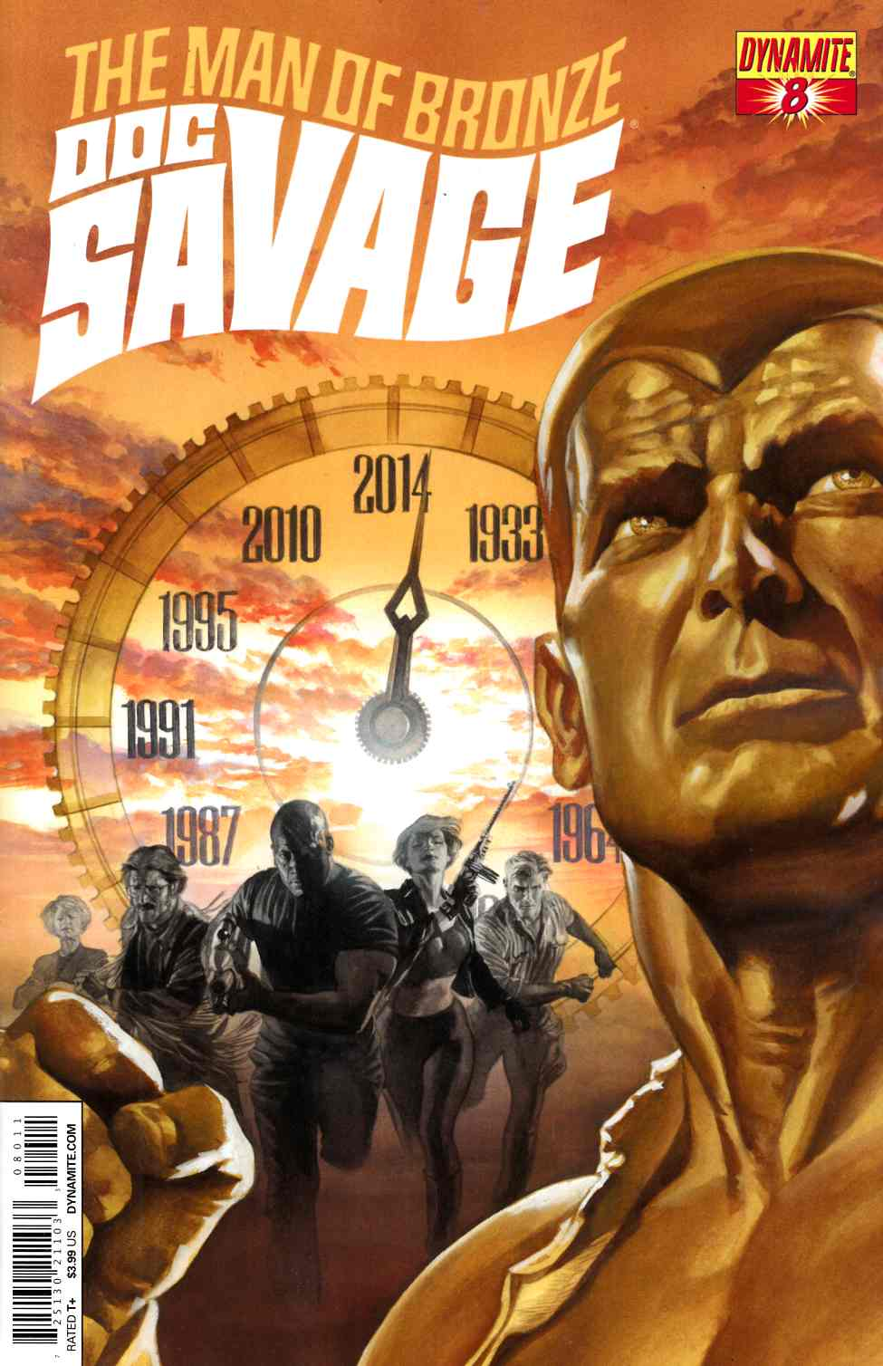Doc Savage #8 Ross Cover [Dynamite Comic] THUMBNAIL