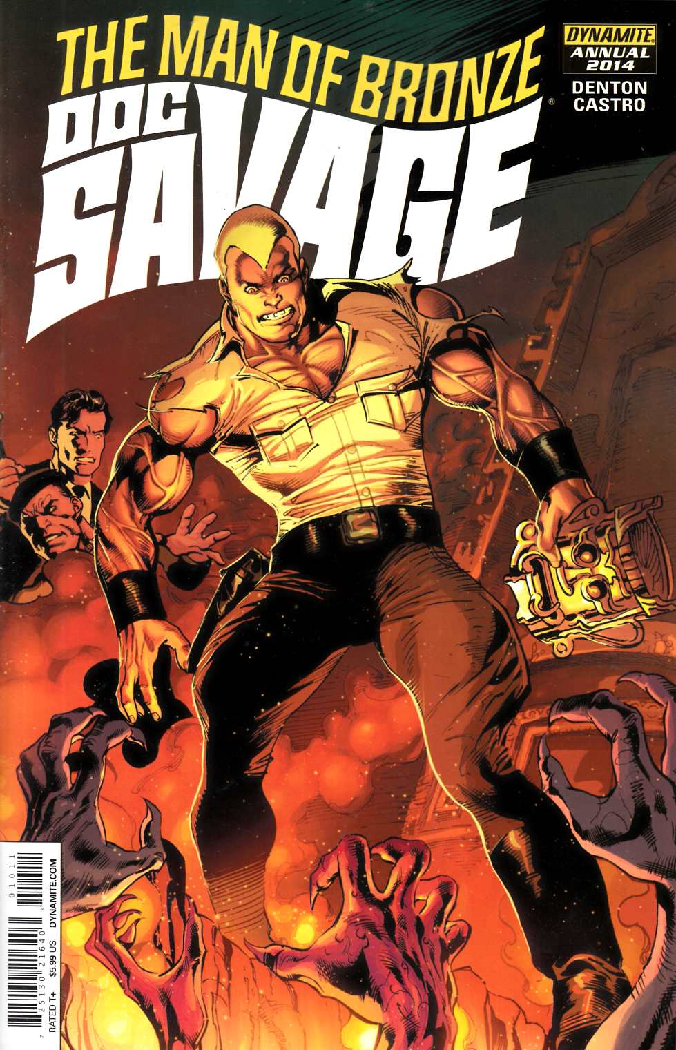 Doc Savage Annual 2014 [Dynamite Comic] THUMBNAIL