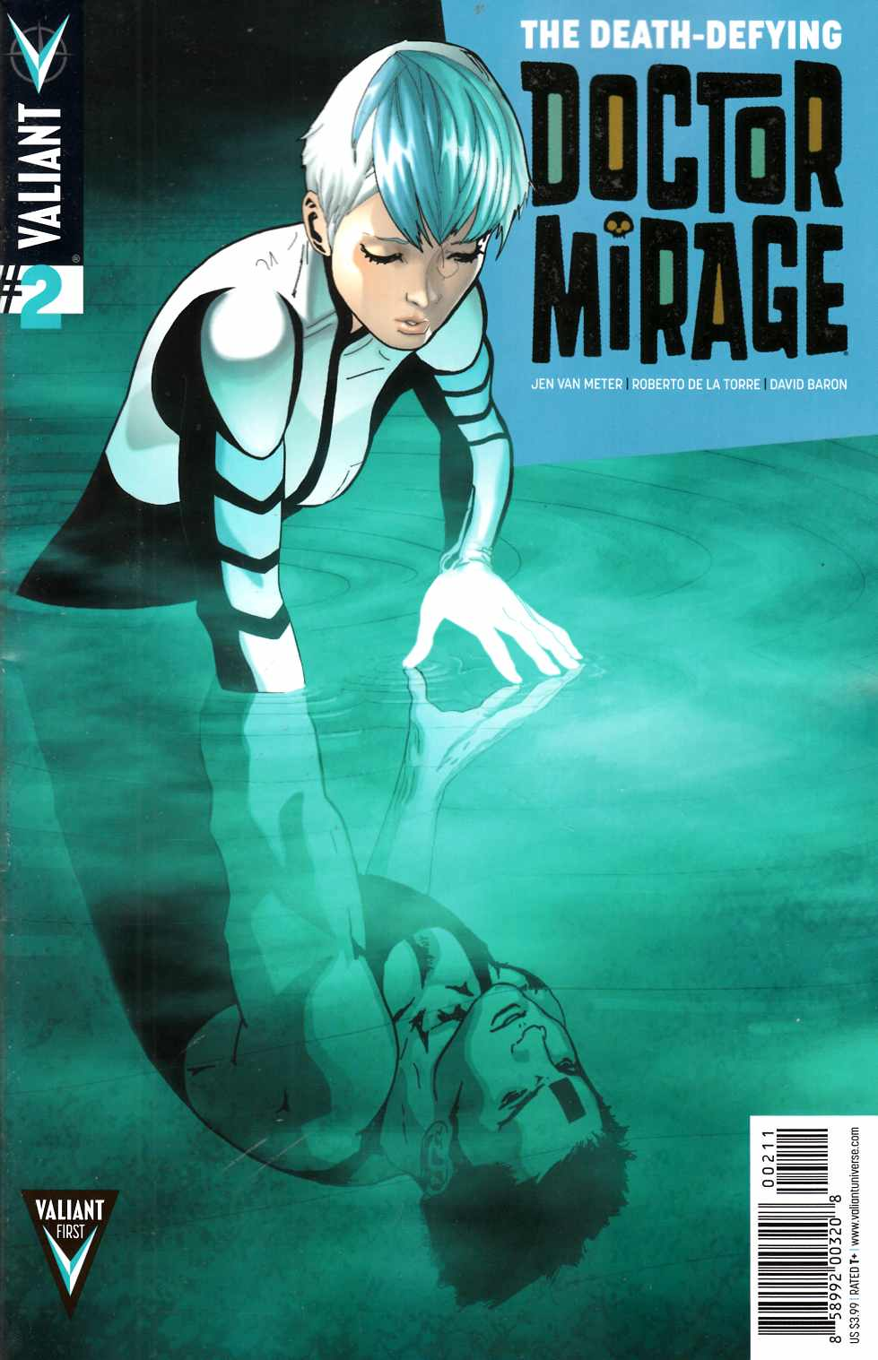 Death Defying Dr Mirage #2 [Comic] THUMBNAIL