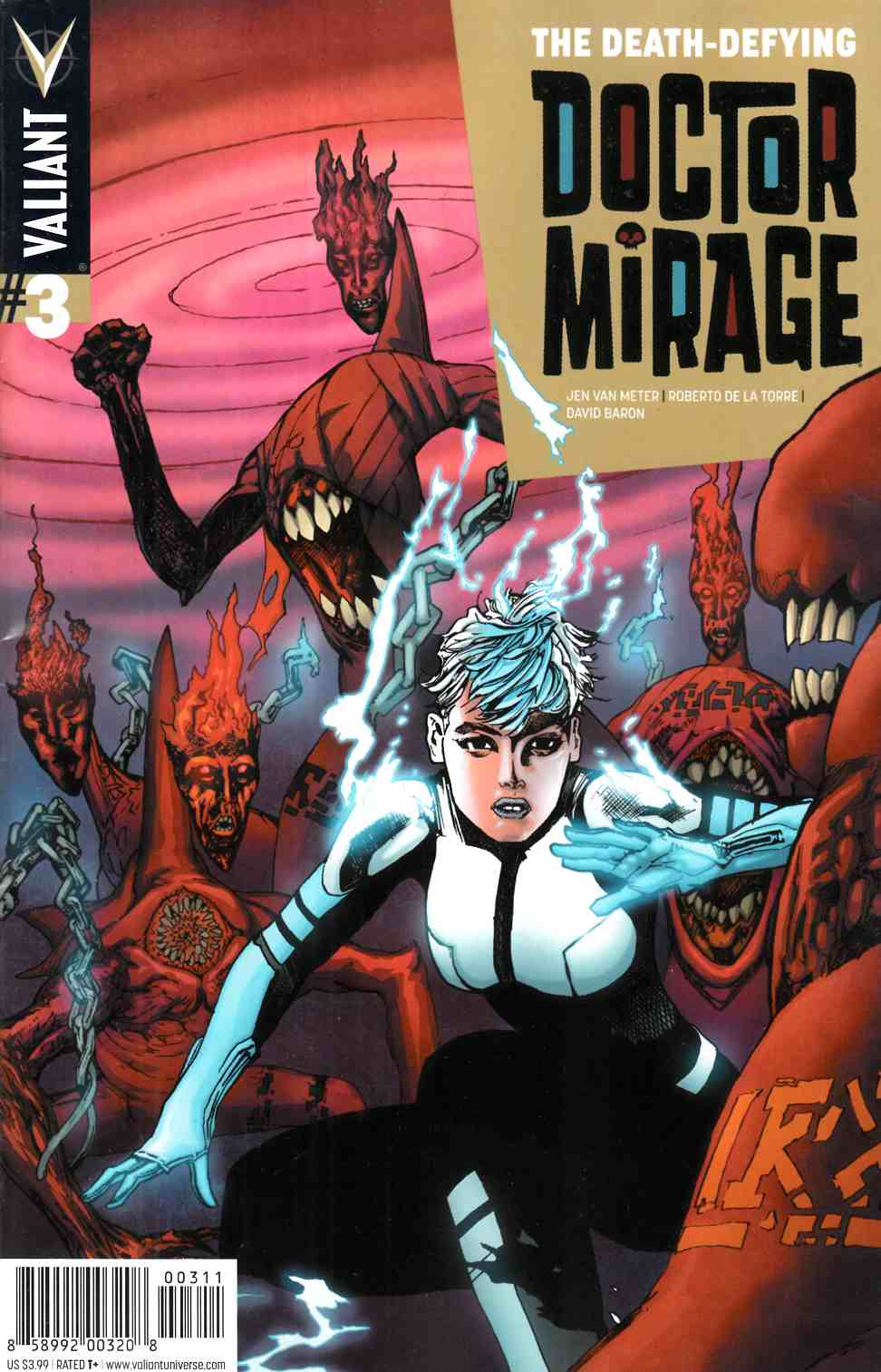 Death Defying Dr Mirage #3 Cover A- Foreman [Valiant Comic] THUMBNAIL