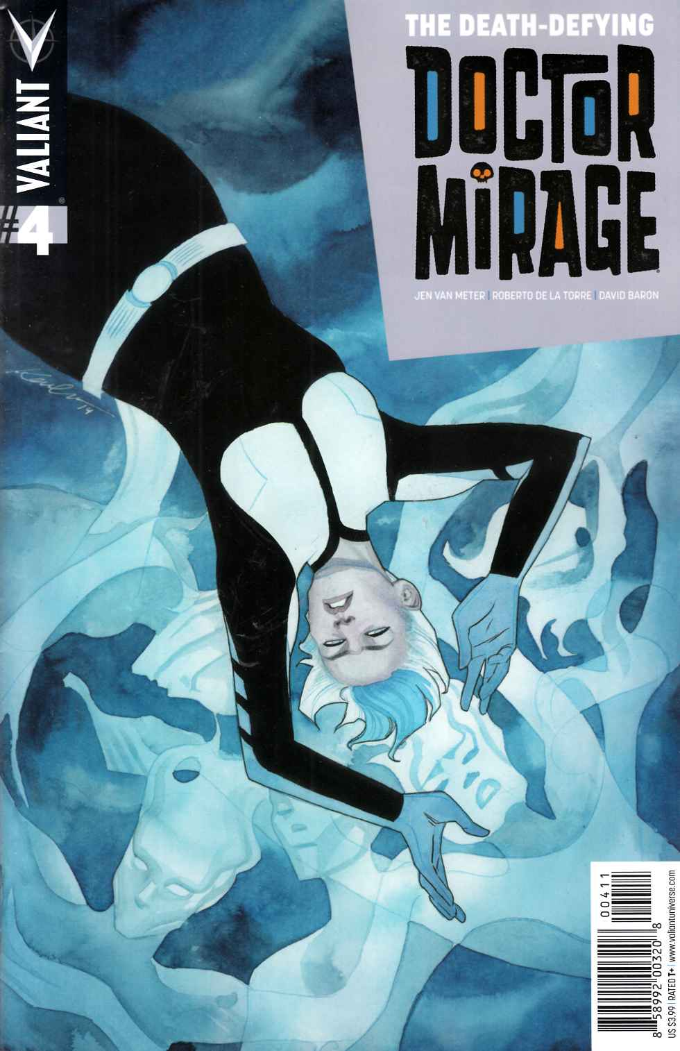 Death Defying Dr Mirage #4 Cover A- Wada [Valiant Comic]_THUMBNAIL