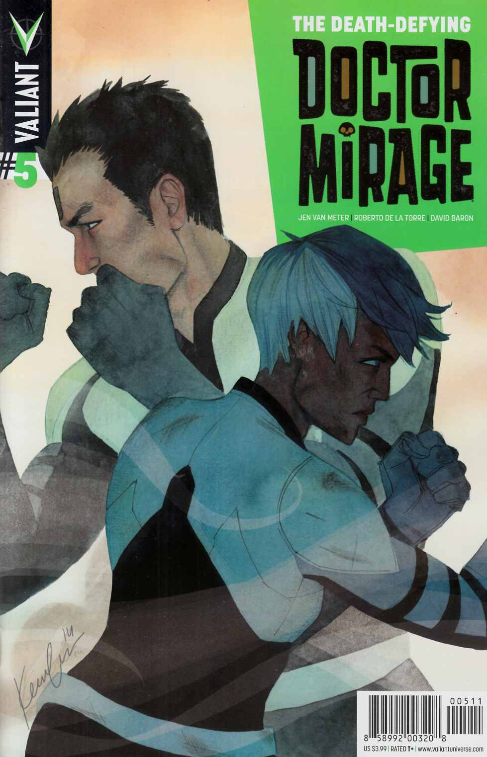 Death Defying Dr Mirage #5 [Valiant Comic] THUMBNAIL