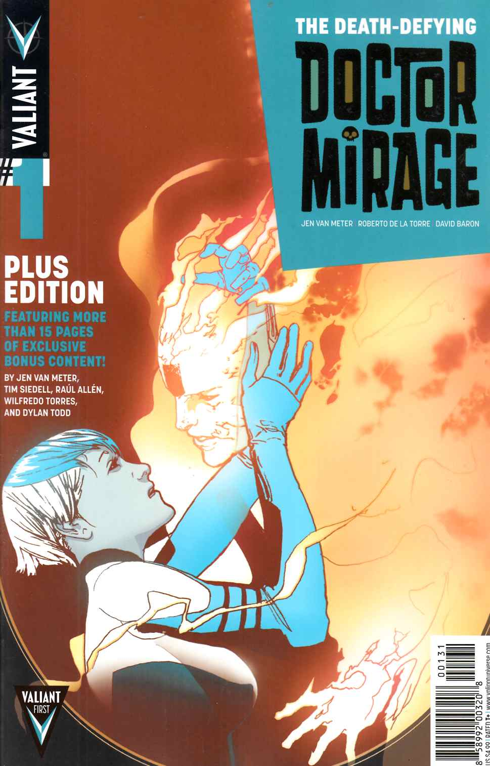 Death Defying Dr Mirage #1 Plus Edition [Valiant Comic] LARGE