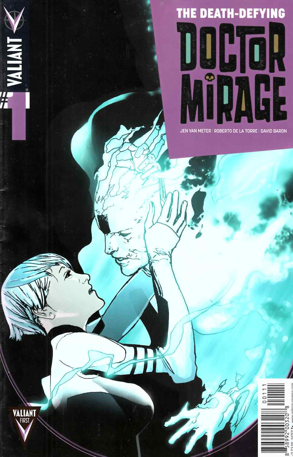 Death Defying Dr Mirage #1 [Valiant Comic] THUMBNAIL