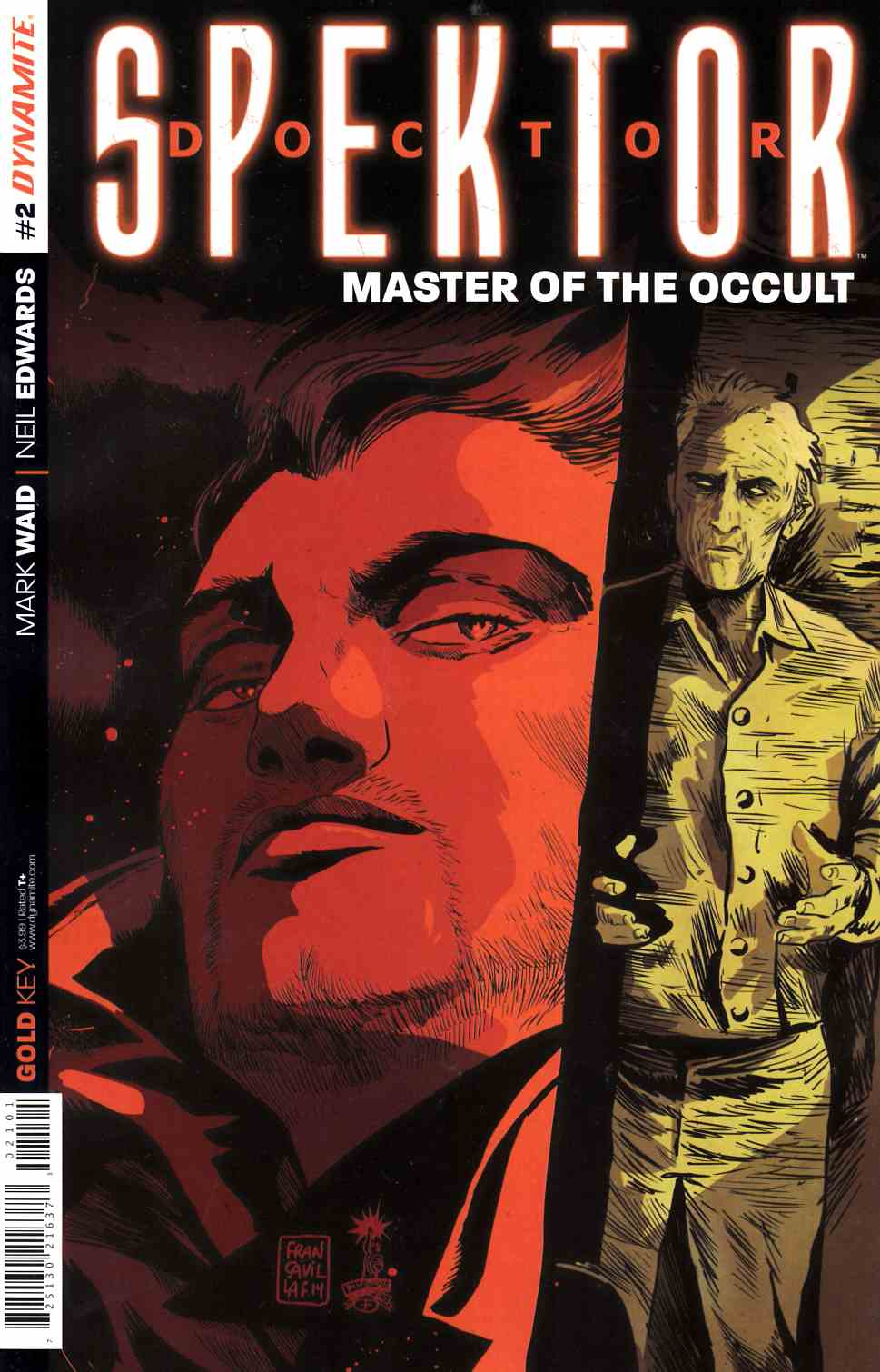 Doctor Spektor #2 Francavilla Subscription Cover [Comic] LARGE