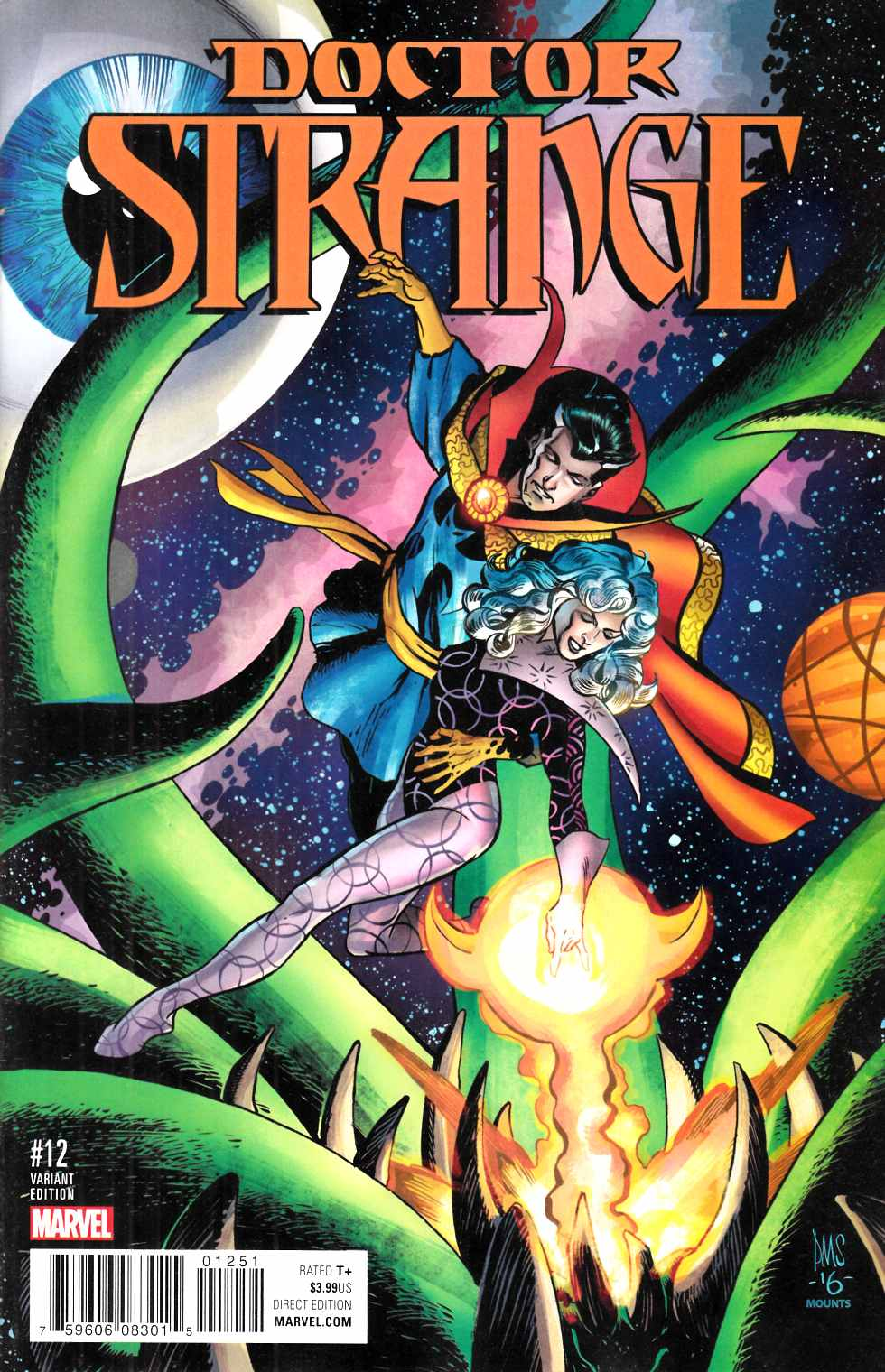Doctor Strange #12 Smith Classic Variant Cover [Marvel Comic] THUMBNAIL