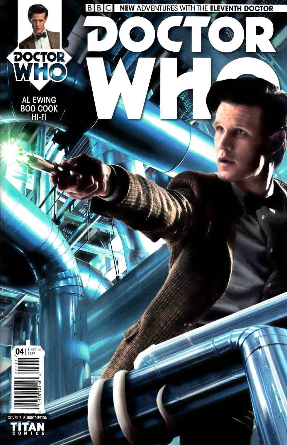 Doctor Who 11th Doctor #4 Subscription Photo Cover [Titan Comic] THUMBNAIL
