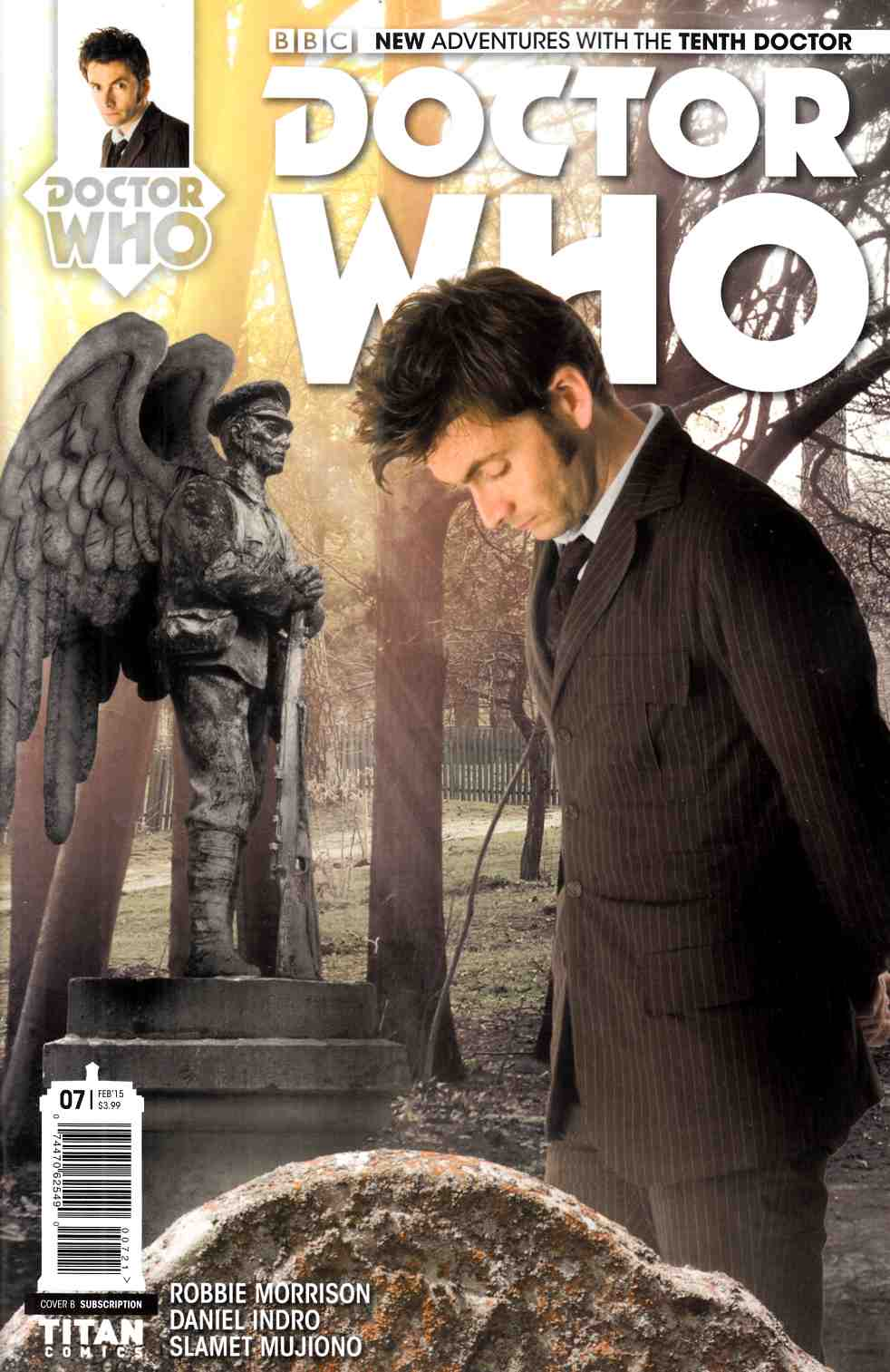 Doctor Who 10th Doctor #7 Subscription Photo Cover [Titan Comic] LARGE