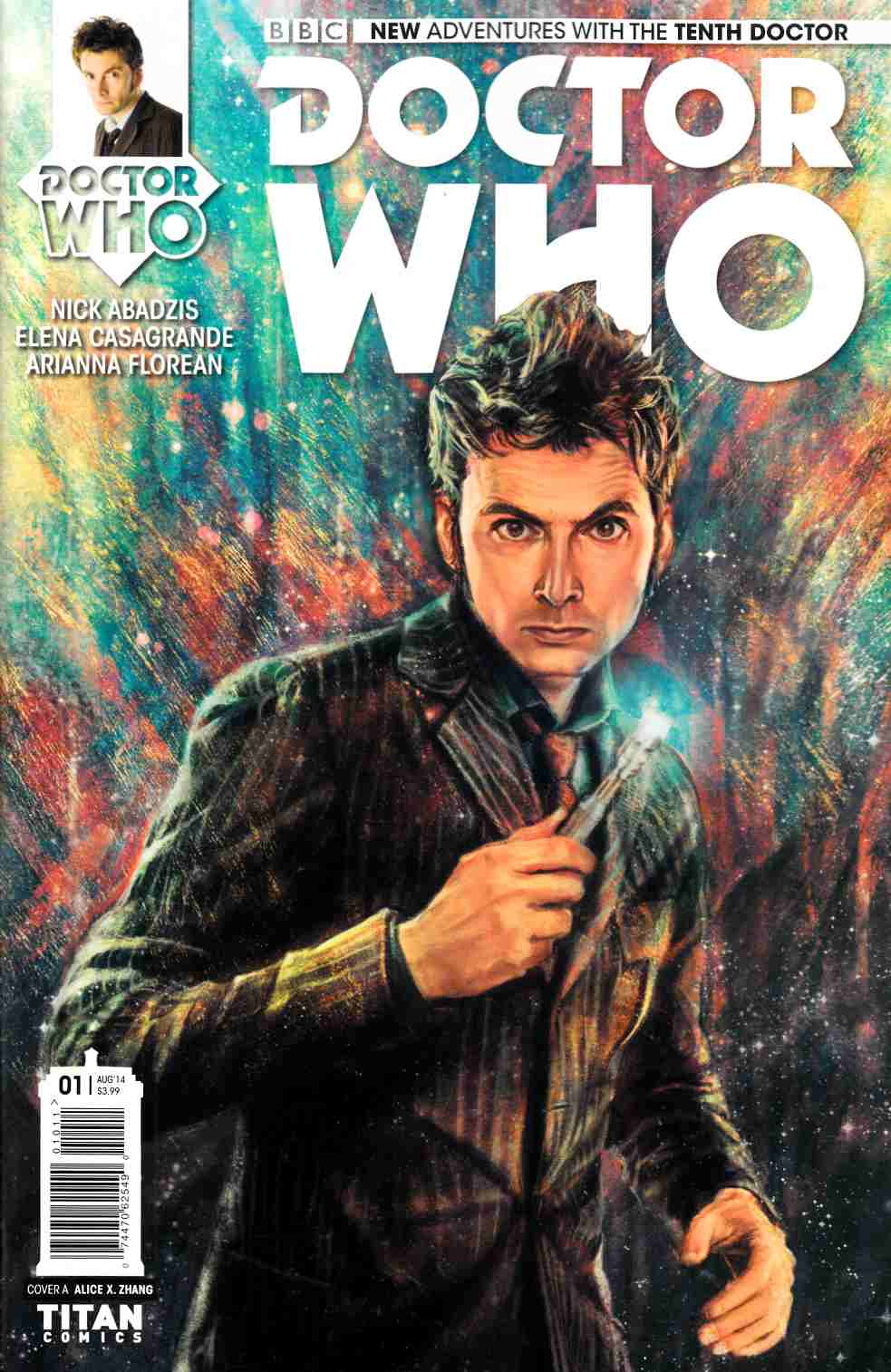 Doctor Who 10th Doctor #1 [Comic] THUMBNAIL