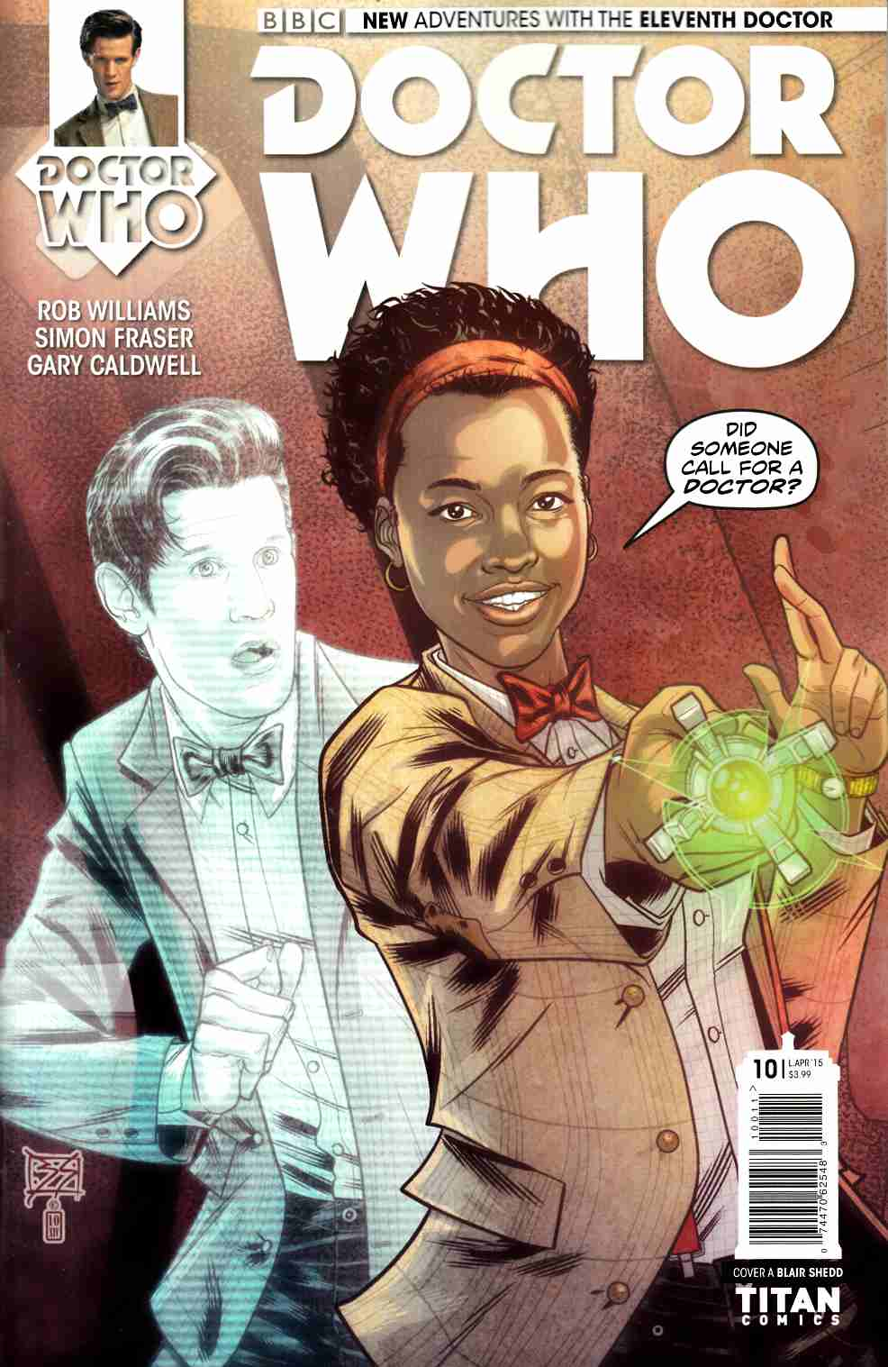 Doctor Who 11th Doctor #10 [Titan Comic] THUMBNAIL