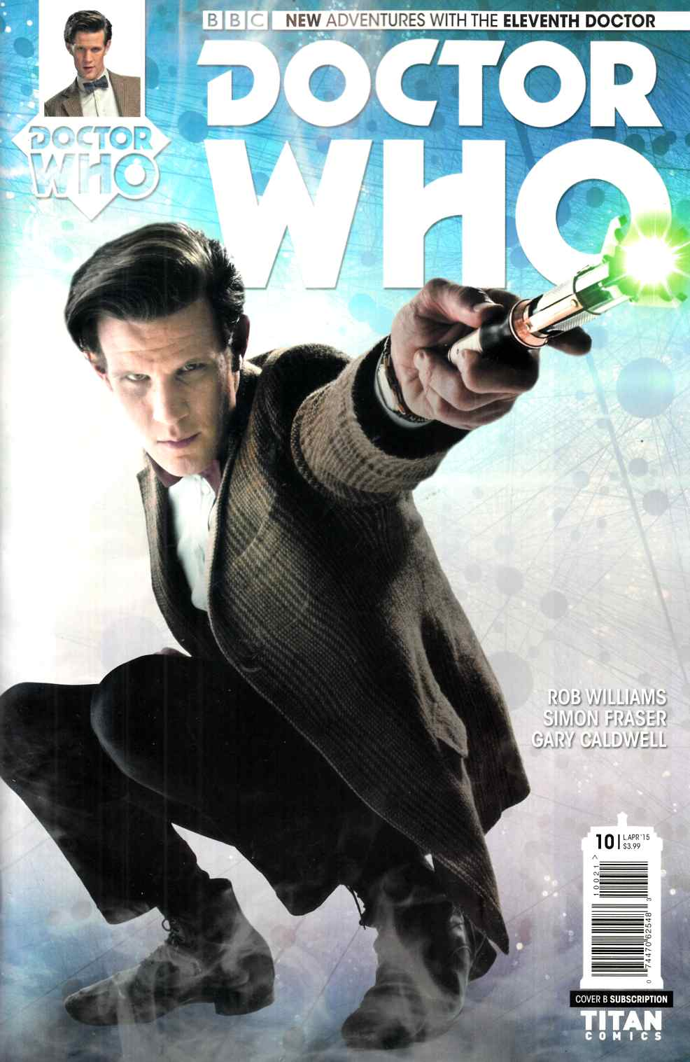 Doctor Who 11th Doctor #10 Subscription Photo Cover [Titan Comic] THUMBNAIL