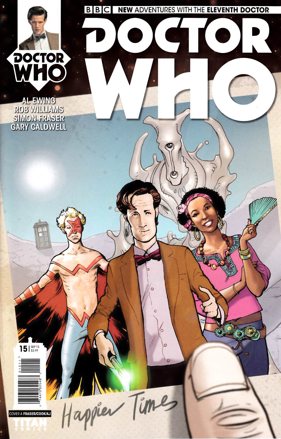 Doctor Who 11th Doctor #15 [Titan Comic] THUMBNAIL