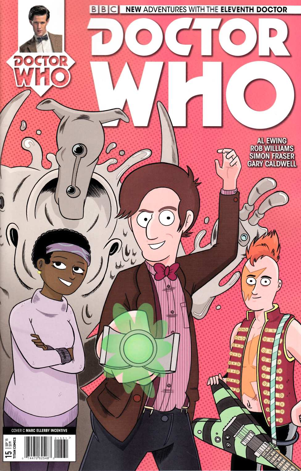 Doctor Who 11th Doctor #15 Ellerby Incentive Cover [Titan Comic] THUMBNAIL