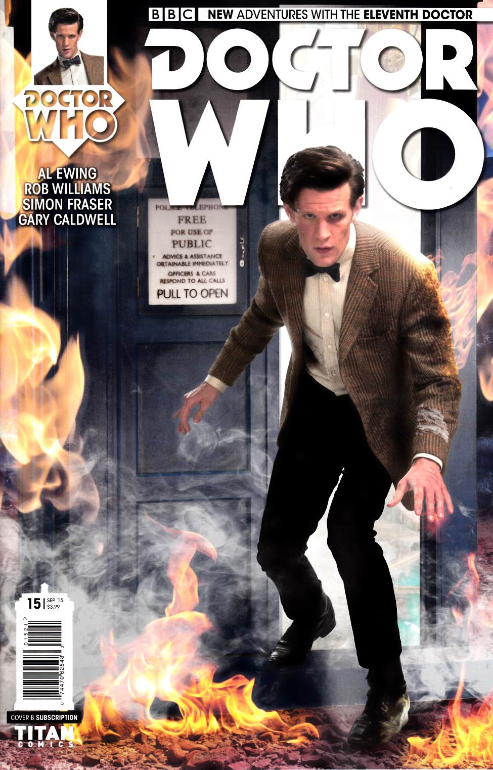 Doctor Who 11th Doctor #15 Subscription Photo [Titan Comic] THUMBNAIL