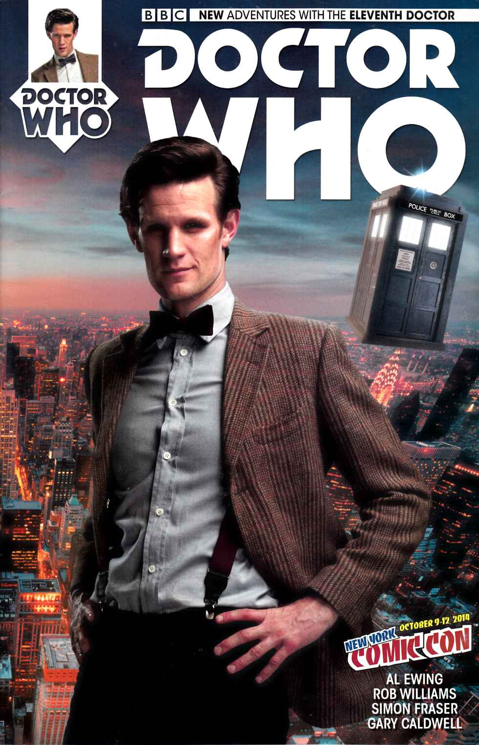 Doctor Who 11th Doctor #1 NYCC Exclusive Cover [Titan Comic] THUMBNAIL