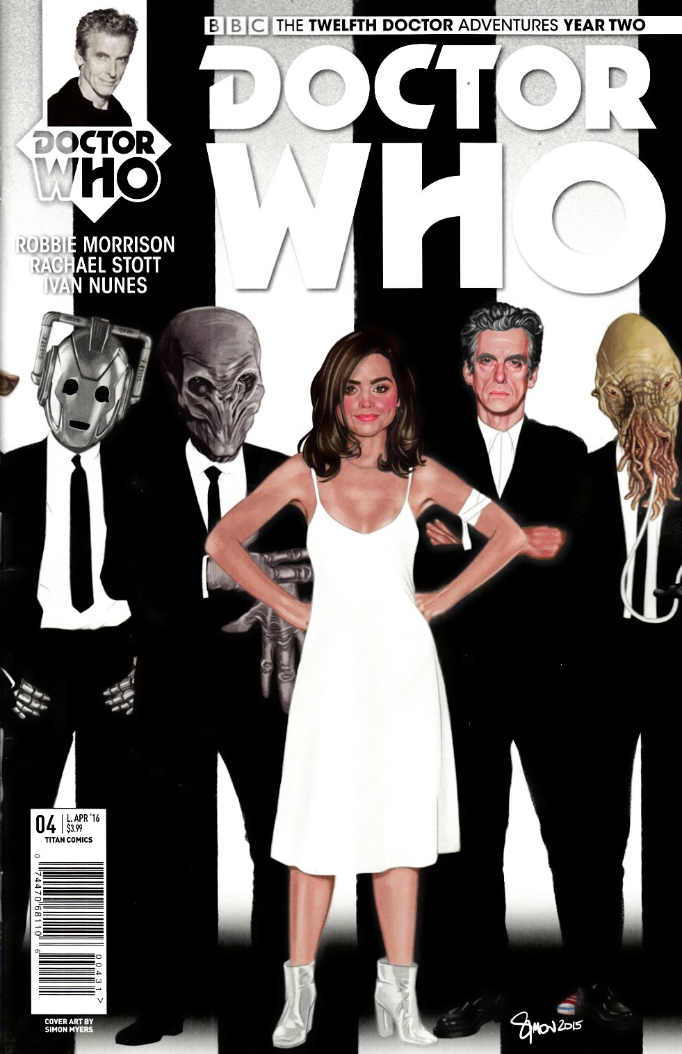 Doctor Who 12th Doctor Year Two #4 Cover C- Myers Incentive [Titan Comic]_LARGE