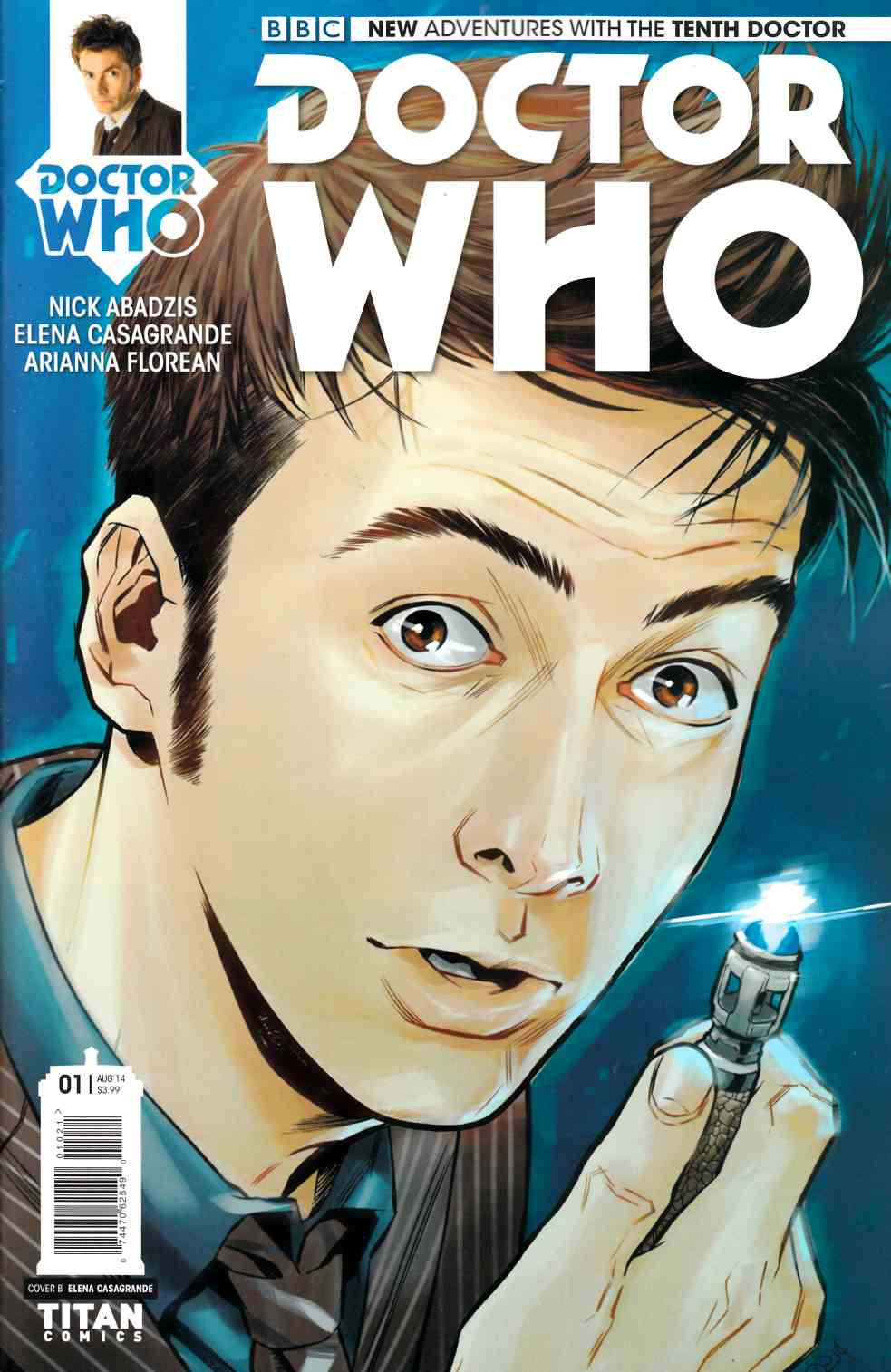 Doctor Who 10th Doctor #1 Subscription Cover [Comic] THUMBNAIL