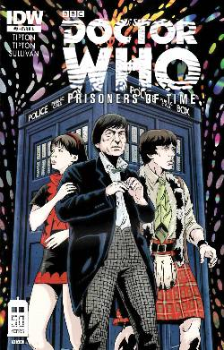 Doctor Who Prisoners of Time #2 Cover RIA [Comic] LARGE