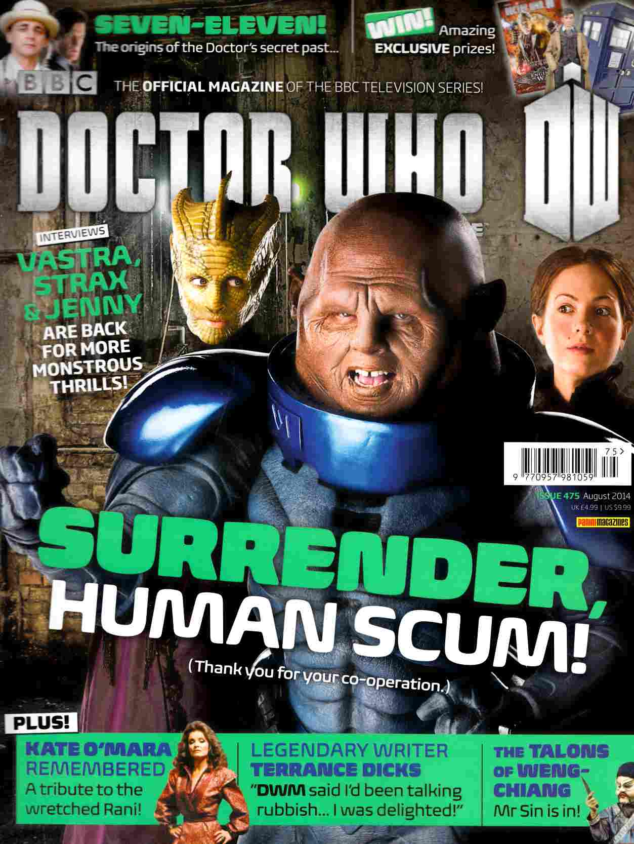 Doctor Who Magazine #475 [Magazine] THUMBNAIL