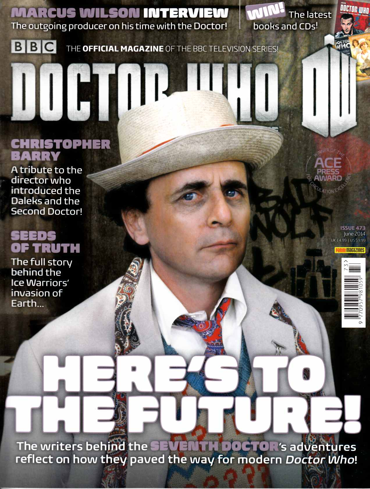 Doctor Who Magazine #473 [Magazine] THUMBNAIL