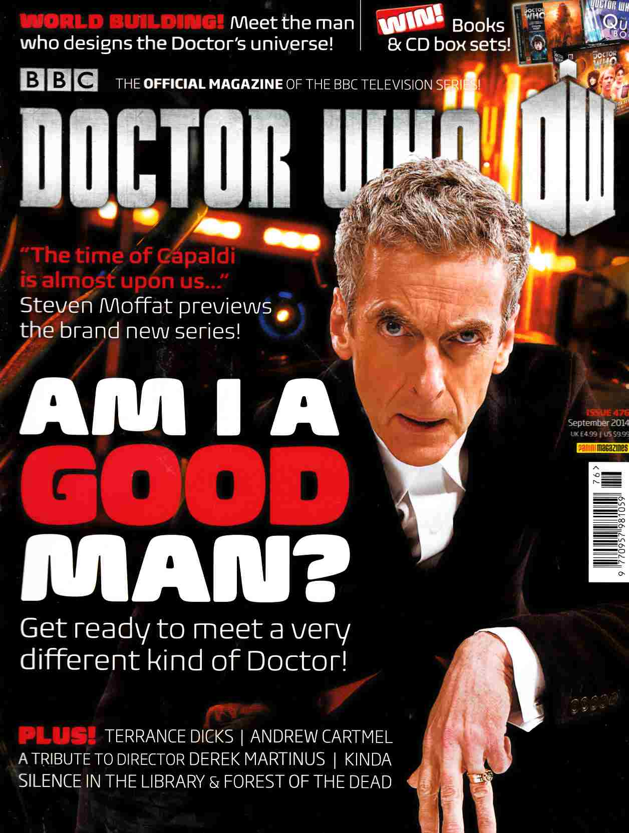 Doctor Who Magazine #476 [Magazine] THUMBNAIL