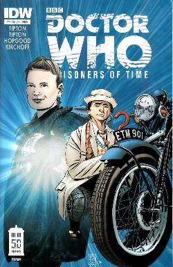 Doctor Who Prisoners of Time #7 Cover B [Comic] LARGE