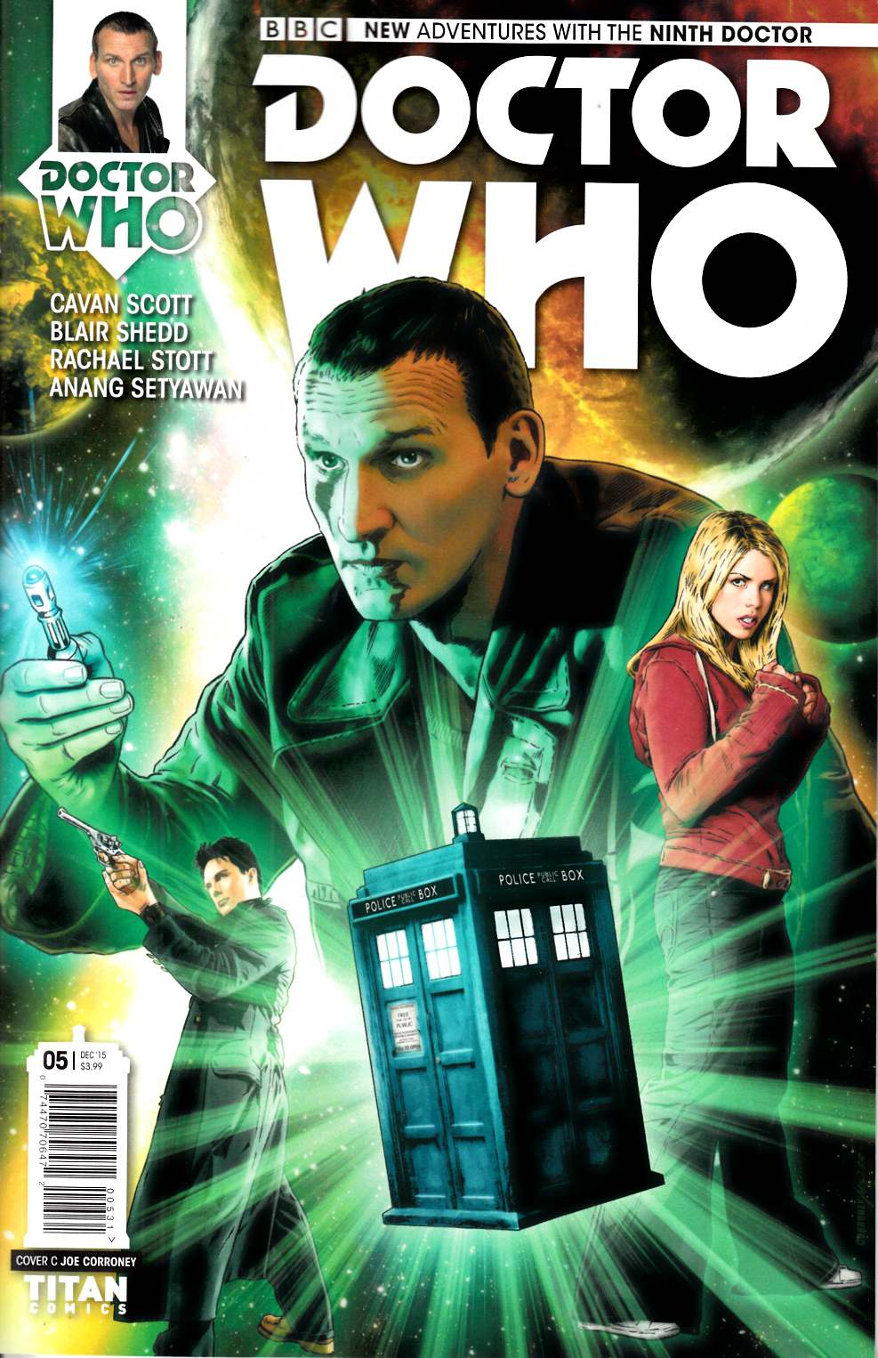 Doctor Who 9th Doctor #5 Corroney Variant Cover [Titan Comic] THUMBNAIL