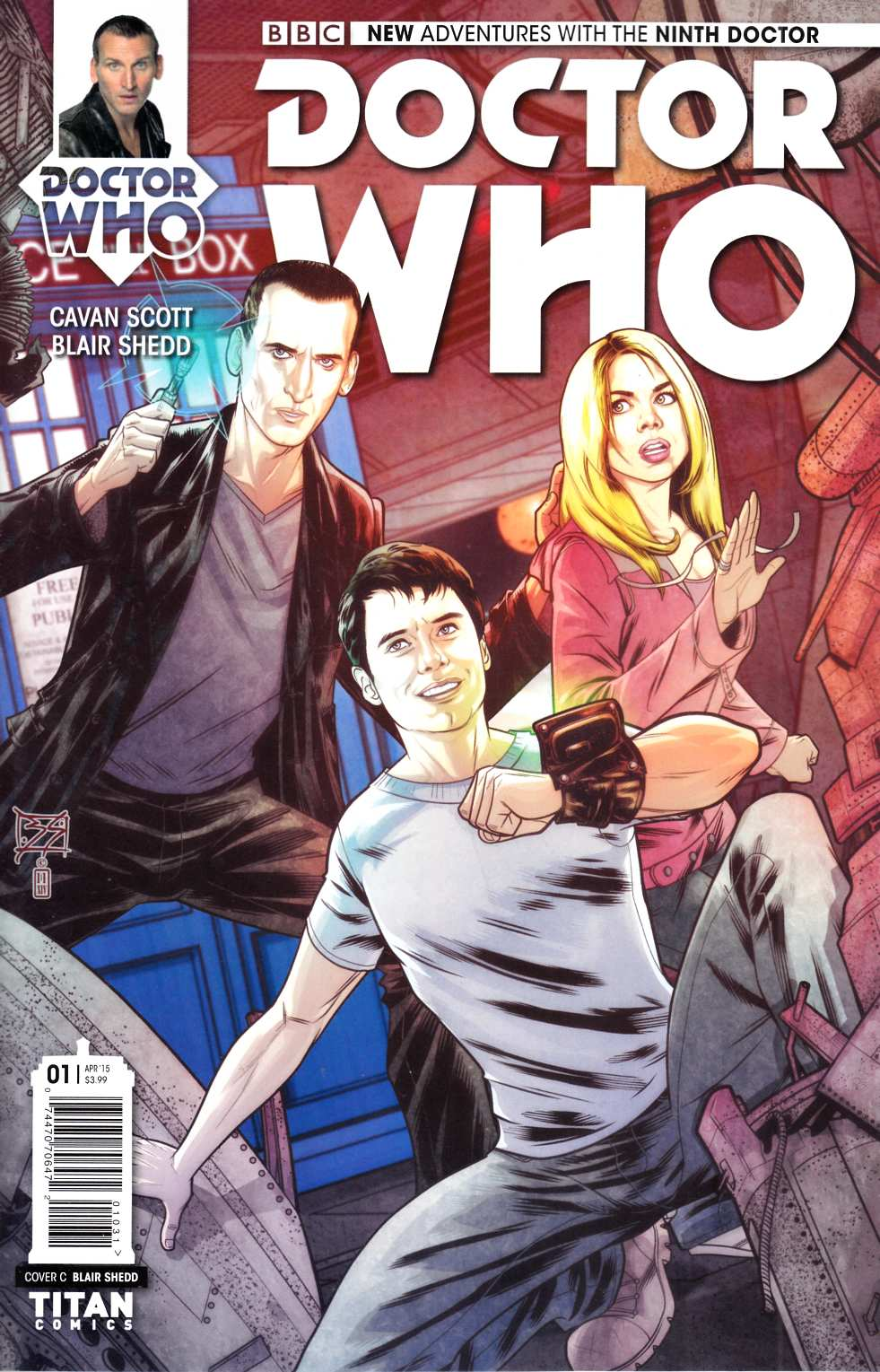 Doctor Who 9th Doctor #1 Shedd Incentive Cover [Titan Comic] THUMBNAIL