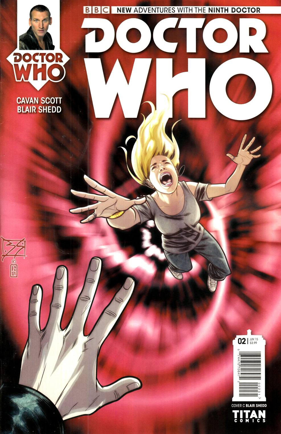 Doctor Who 9th Doctor #2 Shedd Incentive Cover [Titan Comic] THUMBNAIL