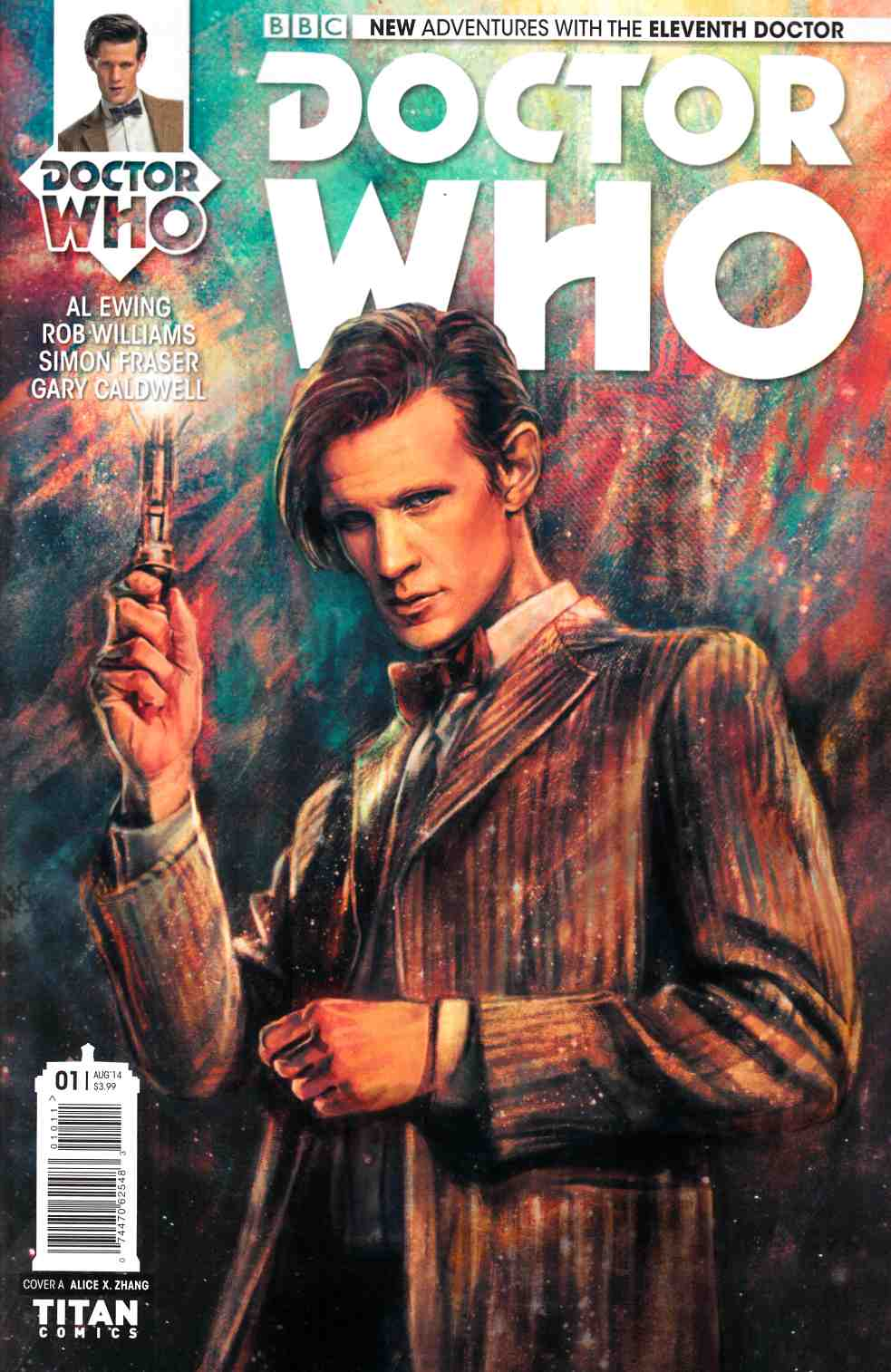 Doctor Who 11th Doctor #1 [Comic] THUMBNAIL