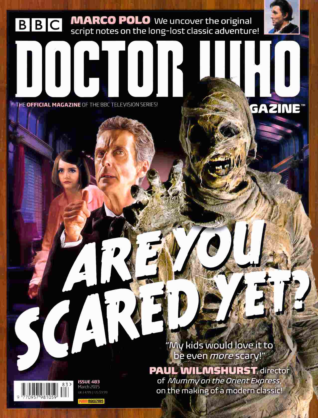 Doctor Who Magazine #483 [Magazine] THUMBNAIL
