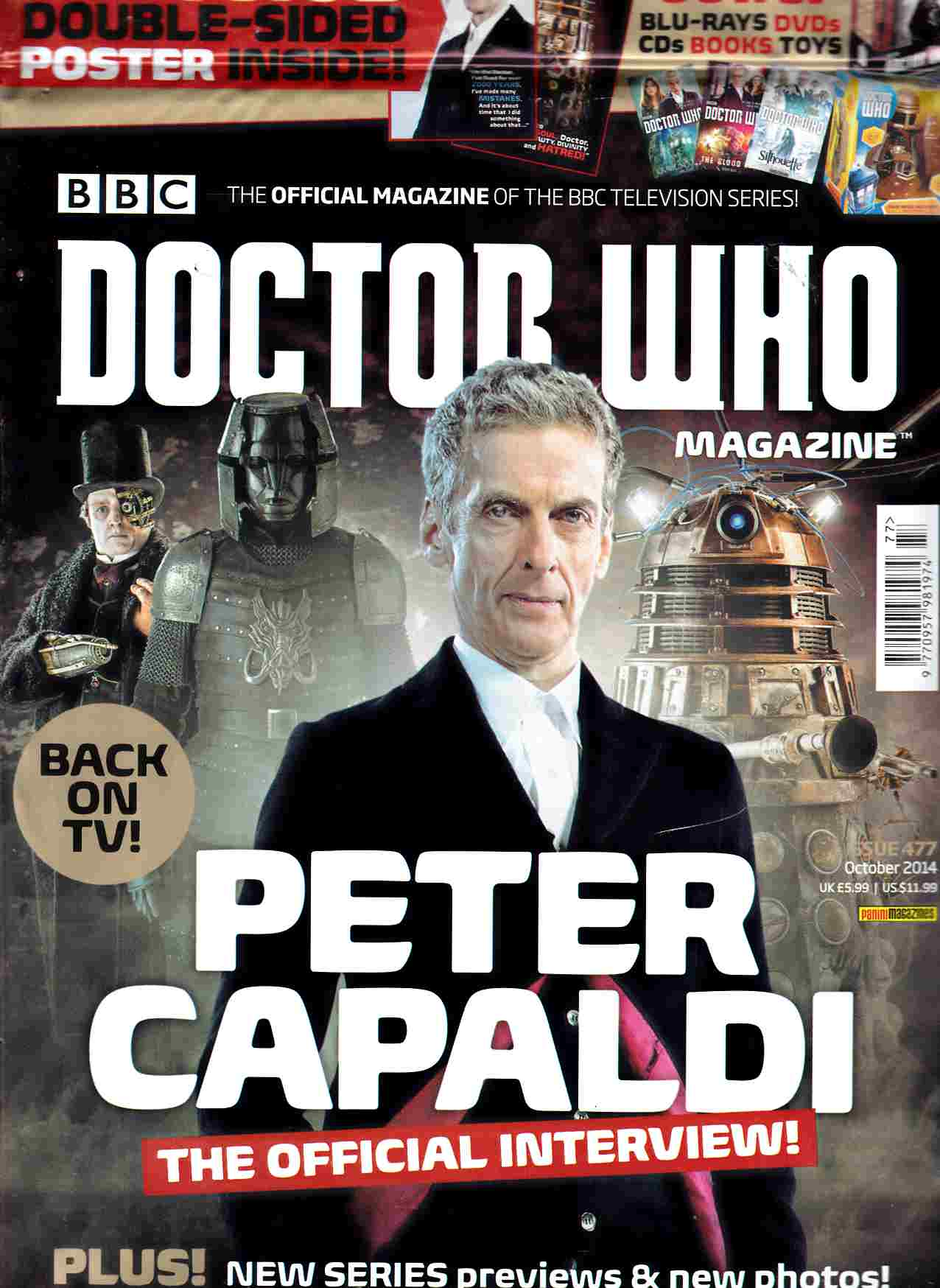 Doctor Who Magazine #477 [Magazine] THUMBNAIL