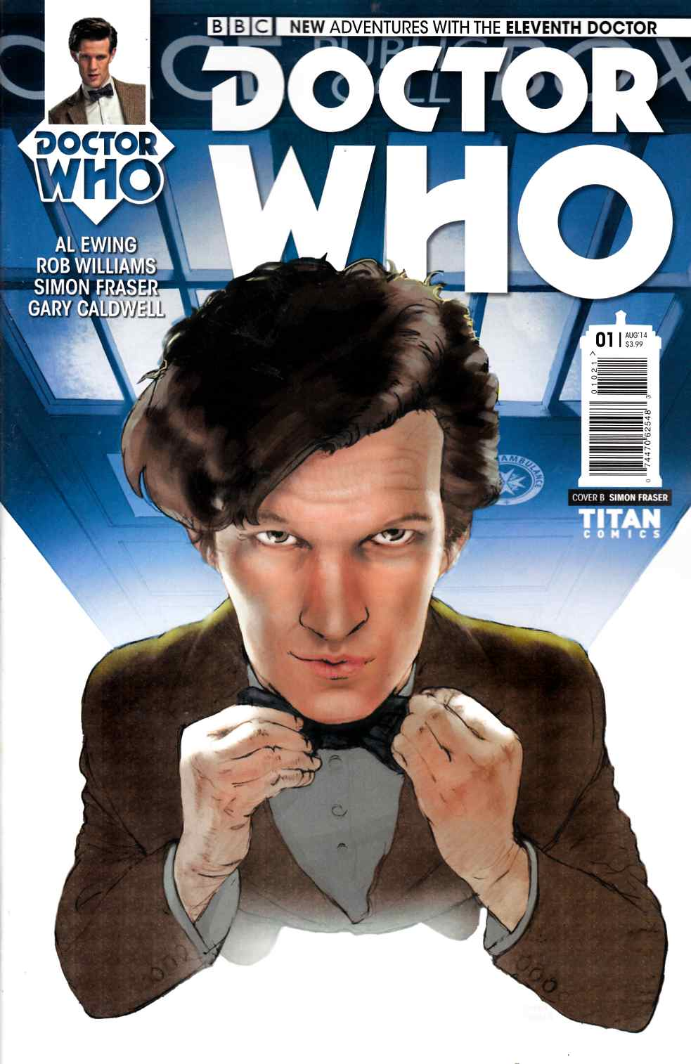 Doctor Who 11th Doctor #1 Subscription Cover [Comic] THUMBNAIL