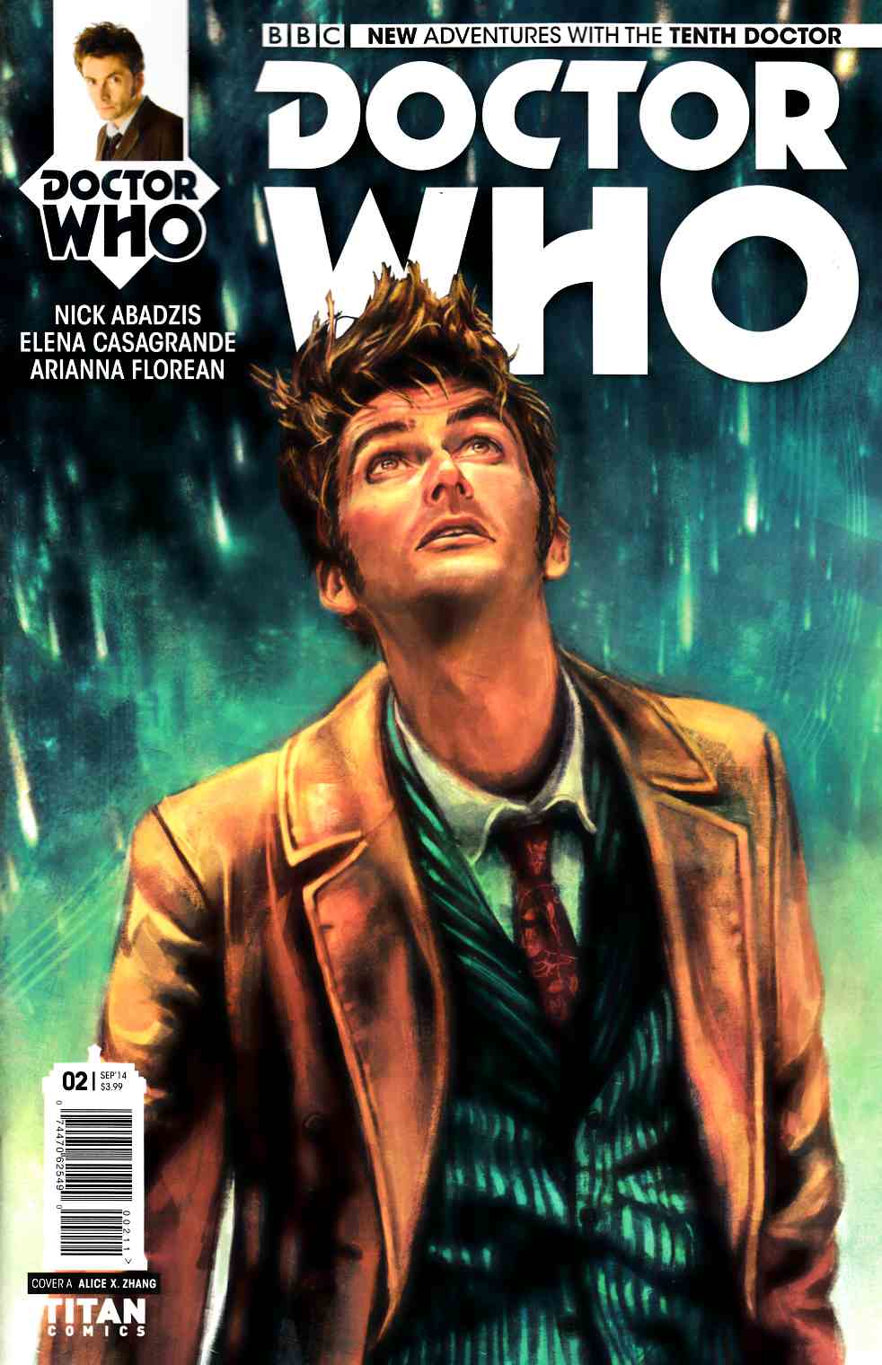 Doctor Who 10th Doctor #2 [Comic] THUMBNAIL
