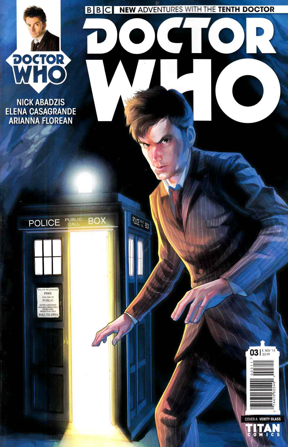 Doctor Who 10th Doctor #3 [Comic] THUMBNAIL