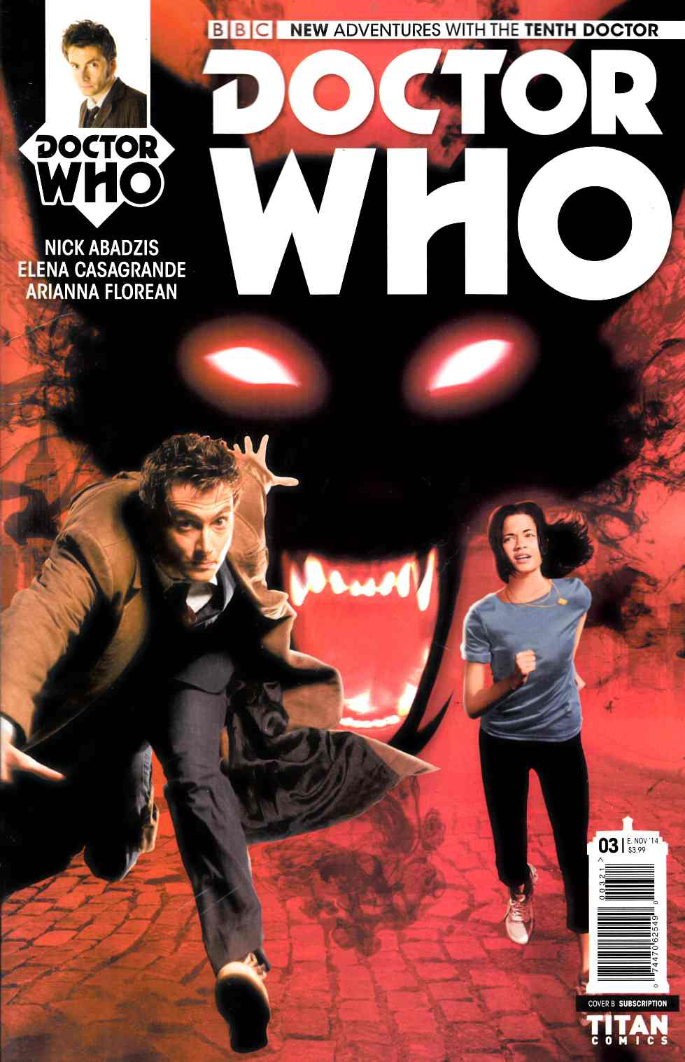 Doctor Who 10th Doctor #3 Subscription Photo Cover [Comic]