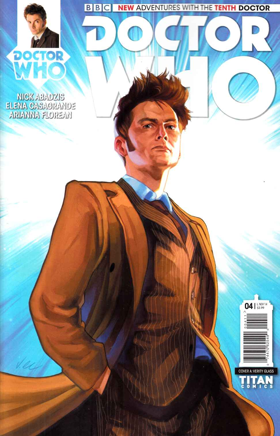 Doctor Who 10th Doctor #4 [Titan Comic] THUMBNAIL