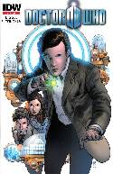 Doctor Who Vol 3 #1 Second Printing [IDW Comic] THUMBNAIL