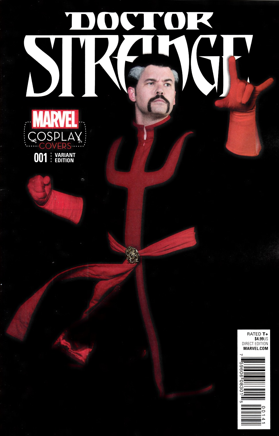 Doctor Strange #1 Cosplay Variant Cover [Marvel Comic] THUMBNAIL