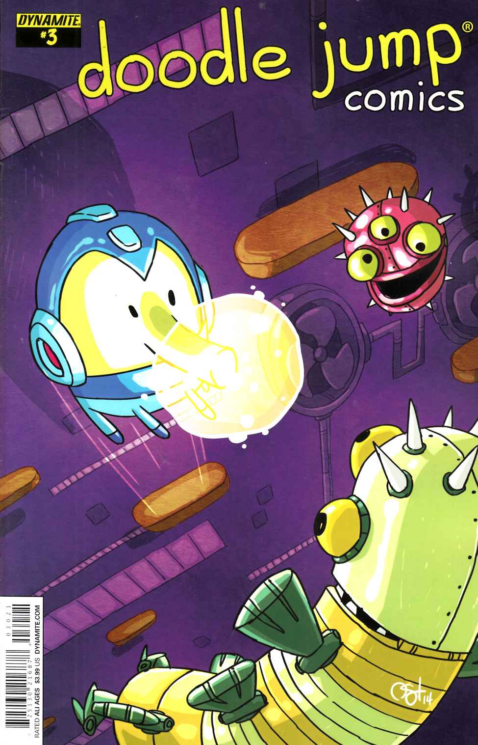 Doodle Jump #3 Video Game Homage Cover [Comic]_THUMBNAIL