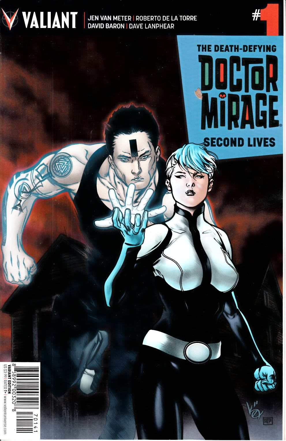 Dr Mirage Second Lives #1 Cover D- Evans [Valiant Comic]