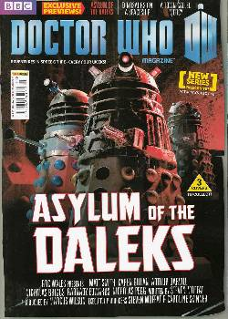 Dr Who Magazine #451 Cover A
