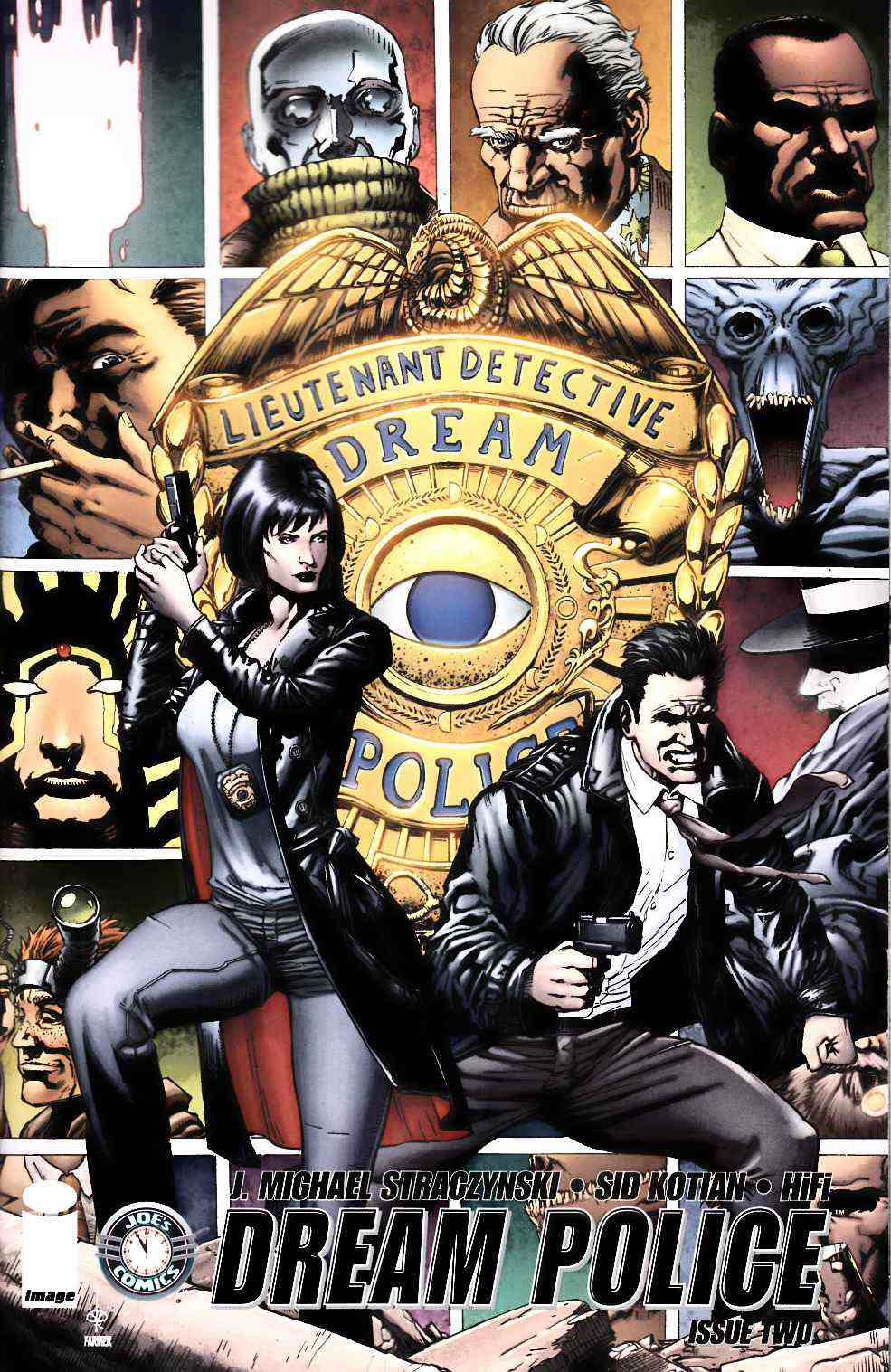 Dream Police #2 Cover A- Kotian & Farmer [Image Comic] THUMBNAIL