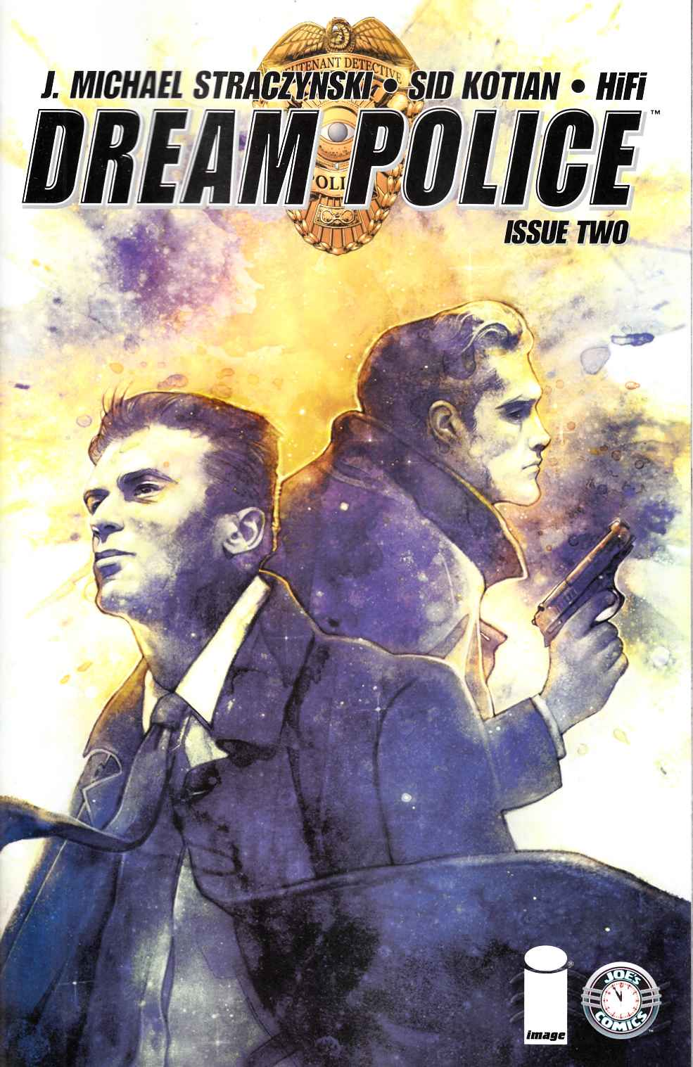 Dream Police #2 Cover B- Dittman [Image Comic] THUMBNAIL