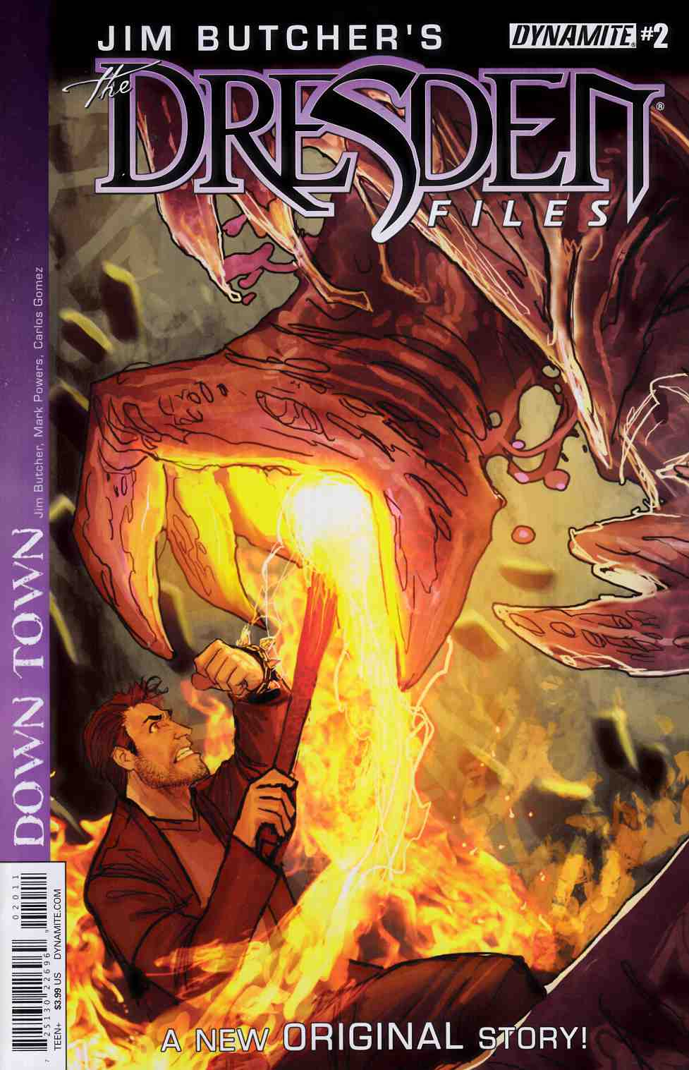 Jim Butcher Dresden Files Down Town #2 [Dynamite Comic]