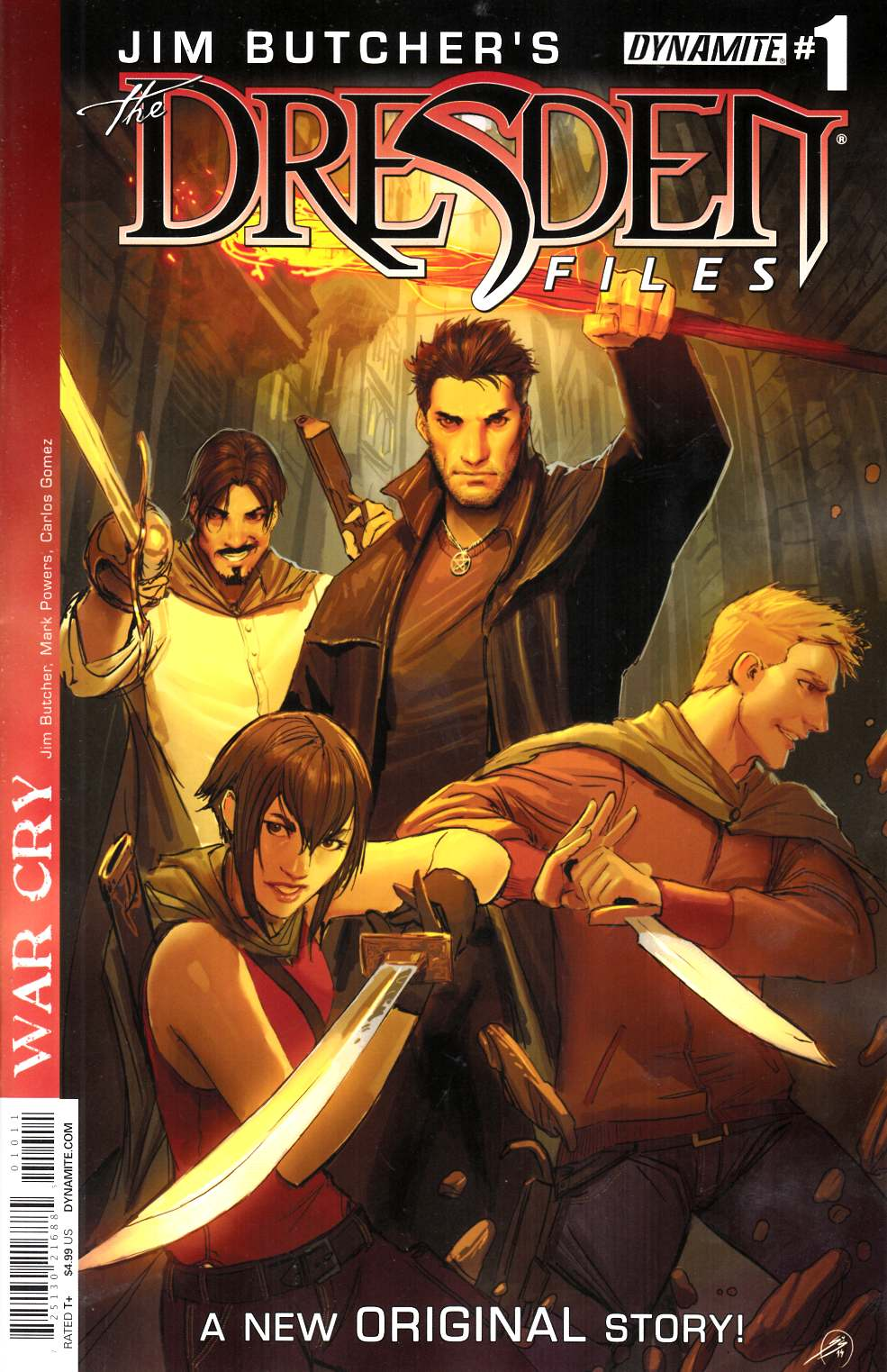 Jim Butcher Dresden Files War Cry #1 [Comic]_THUMBNAIL