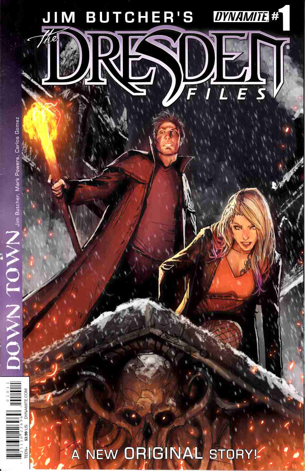 Jim Butcher Dresden Files Down Town #1 [Dynamite Comic]_THUMBNAIL